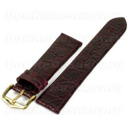 Ремешок HIRSCH Genuine Croco 189208-60-1-20